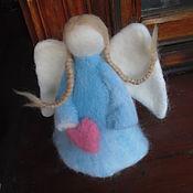 """Куклы и игрушки ручной работы. Ярмарка Мастеров - ручная работа валяная игрушка """"Ангел"""". Handmade."""