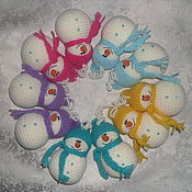 Подарки к праздникам handmade. Livemaster - original item Christmas snowmen. Handmade.