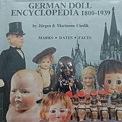 Материалы для творчества ручной работы. Ярмарка Мастеров - ручная работа Книга German Doll Encyclopedia 1800 – 1939. Handmade.