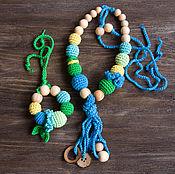 Одежда ручной работы. Ярмарка Мастеров - ручная работа Слингобусы с кисточкой и мини грызунок. Handmade.