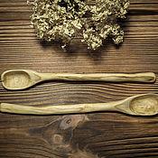 Посуда ручной работы. Ярмарка Мастеров - ручная работа Ложечка из груши. Handmade.