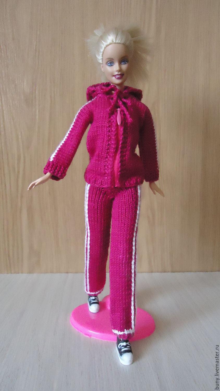 Как сделать спортивный костюм для куклы 705