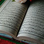 Канцелярские товары ручной работы. Ярмарка Мастеров - ручная работа Обложка для книги Коран. Handmade.