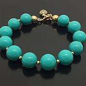 Украшения handmade. Livemaster - original item Turquoise bracelet charm. Handmade.