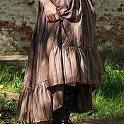 """Одежда ручной работы. Ярмарка Мастеров - ручная работа Бохо юбка """"Шоколад с перцем"""". Handmade."""