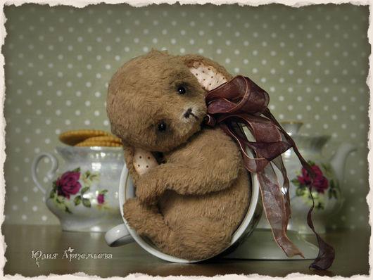 Мишки Тедди ручной работы. Ярмарка Мастеров - ручная работа. Купить Зайка тедди. Обыкновенное волшебство. Handmade. Бежевый, какао