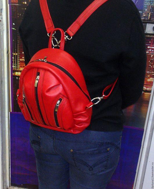 Рюкзаки ручной работы. Ярмарка Мастеров - ручная работа. Купить Рюкзак кожаный 911. Handmade. Рюкзак, рюкзак для девушки