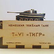 """Сувениры и подарки ручной работы. Ярмарка Мастеров - ручная работа Танк Т-6 """"Тигр"""". Handmade."""