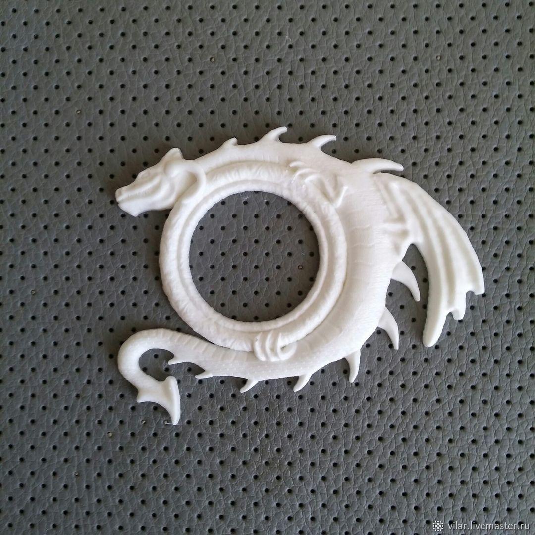 Рамка с драконом Б, Материалы, Балашиха, Фото №1