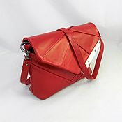 Сумки и аксессуары handmade. Livemaster - original item Red leather women`s bag