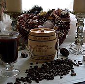 """Сувениры и подарки ручной работы. Ярмарка Мастеров - ручная работа Бочонок с кофе """"Jamaica Blue Mountain"""" подарок кофеману. Handmade."""