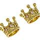 Бусина корона малая золото и серебро (Milano) Евгения (Lizzi-stones-2)
