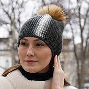 Аксессуары handmade. Livemaster - original item Beanie hat A little sun in cold water. Handmade.