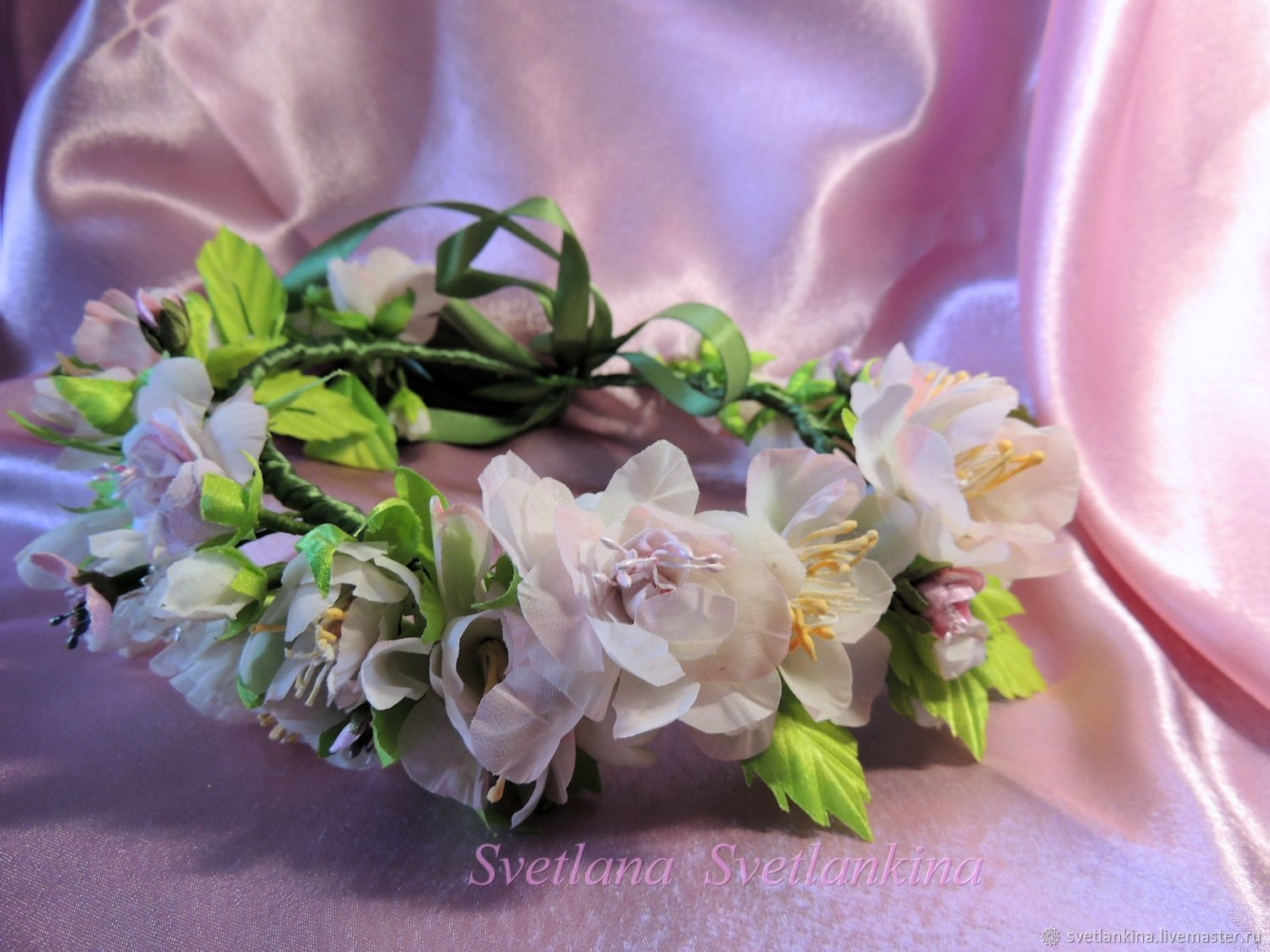 Wreath Flower Fairy Silk Flowers Shop Online On Livemaster With