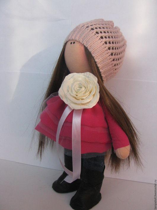 Куклы тыквоголовки ручной работы. Ярмарка Мастеров - ручная работа. Купить текстильная кукла. Handmade. Фуксия, ручная авторская работа