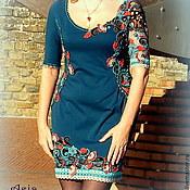 """Одежда ручной работы. Ярмарка Мастеров - ручная работа Платье """"Paisley Blumarin"""". Handmade."""