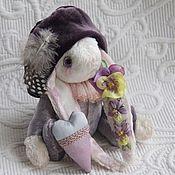 """Куклы и игрушки ручной работы. Ярмарка Мастеров - ручная работа Зайка-паж """"Фиалка"""". Handmade."""