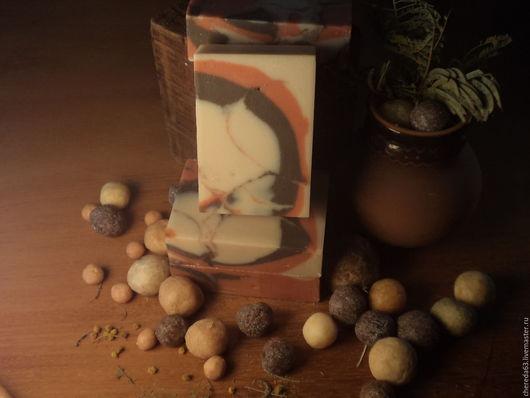 """Мыло ручной работы. Ярмарка Мастеров - ручная работа. Купить натуральное мыло """"Калахари""""ручной работы.. Handmade. Комбинированный, мужское мыло"""
