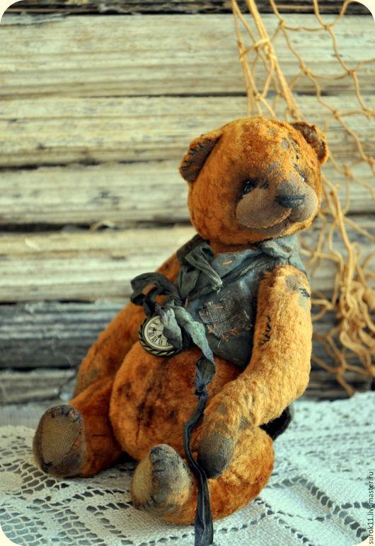 Мишки Тедди ручной работы. Ярмарка Мастеров - ручная работа. Купить Мишка Тедди  Патрик. Handmade. Мишка