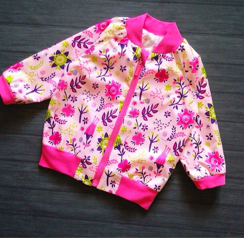 Одежда для девочек, ручной работы. Ярмарка Мастеров - ручная работа. Купить Ветровка. Handmade. Ветровка, бомбер для девочки, бомбер детский