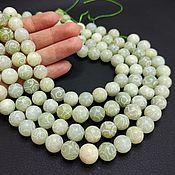 Материалы для творчества handmade. Livemaster - original item Beads Jade Matte Carved 12mm. Handmade.