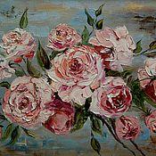 Картины и панно ручной работы. Ярмарка Мастеров - ручная работа Чайная роза. Handmade.