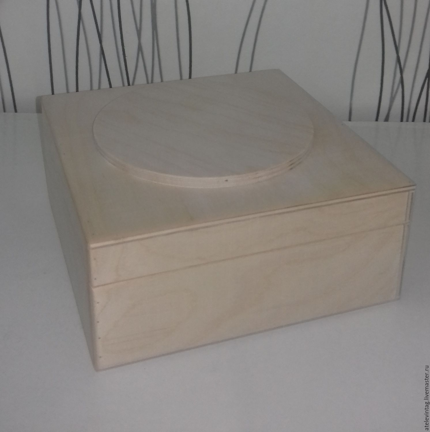Box, storage 107, Blanks for decoupage and painting, Tula,  Фото №1