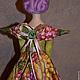 Куклы Тильды ручной работы. Заказать Тильда,,Ангел винограда,,. Елена (elenadollworld). Ярмарка Мастеров. Текстильная кукла, ангел винограда