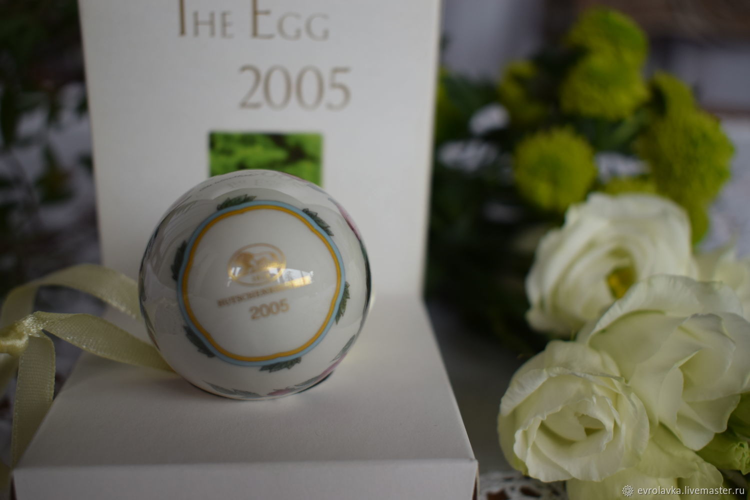 Porcelain easter egg from hutschenreuthergermany shop online on imperia evrolavka easter gifts handmade porcelain easter egg from hutschenreuthergermany negle Image collections