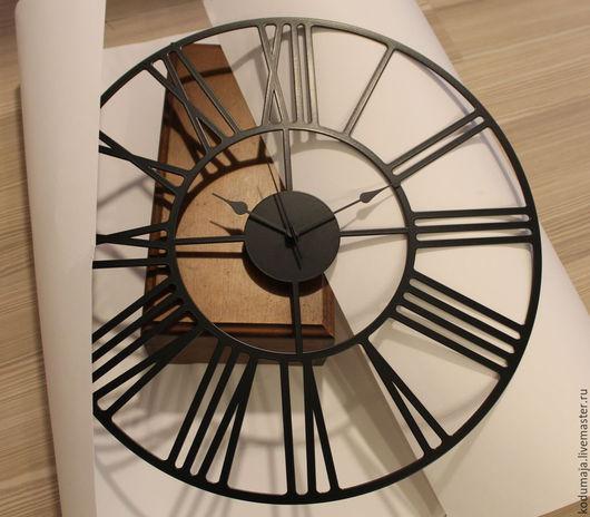 """Часы для дома ручной работы. Ярмарка Мастеров - ручная работа. Купить Часы 45см """"Rooma"""". Handmade. Римские часы"""