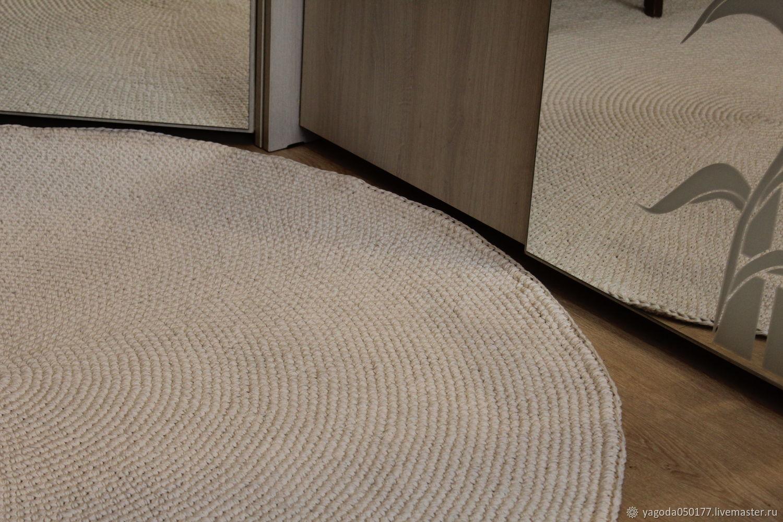Knitted cotton carpet ' Comfort'', Carpets, Kaluga,  Фото №1