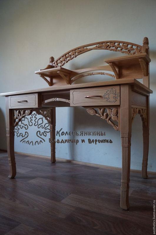 Мебель ручной работы. Ярмарка Мастеров - ручная работа. Купить Стол-секретер из бука Хмель. Handmade. Стол, стол деревянный
