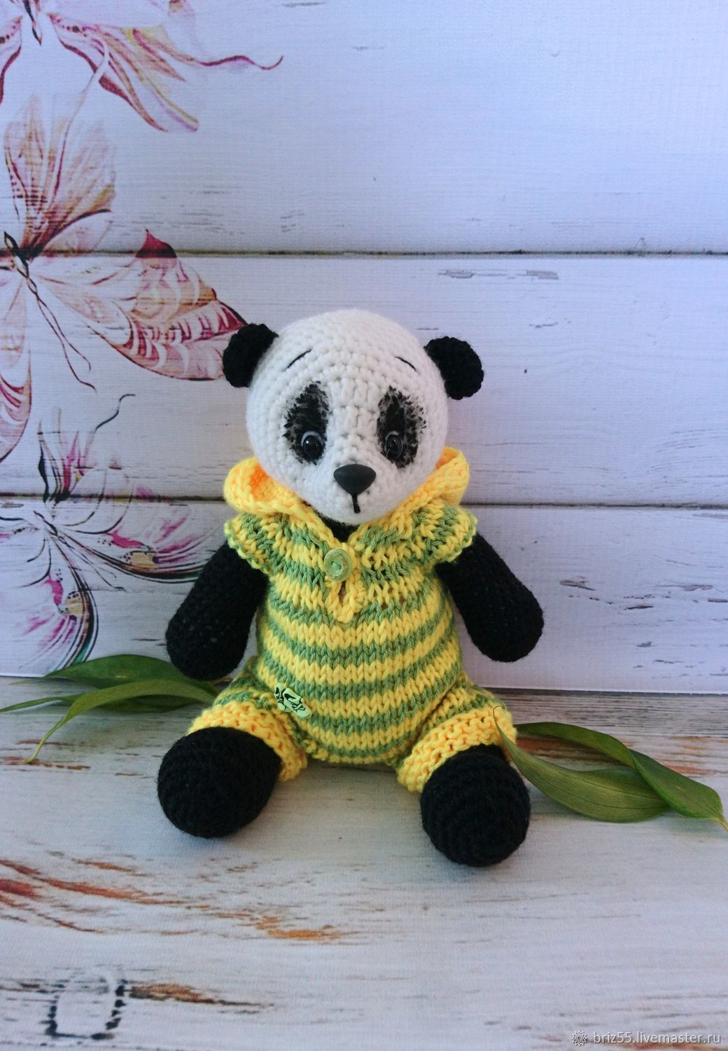Baby Panda, soft knitted toy, Stuffed Toys, Zelenograd,  Фото №1
