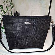Классическая сумка ручной работы. Ярмарка Мастеров - ручная работа Сумка из натуральной кожи модель 19. Handmade.