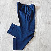 Одежда ручной работы. Ярмарка Мастеров - ручная работа Брюки 7/8 из вискозы. Handmade.
