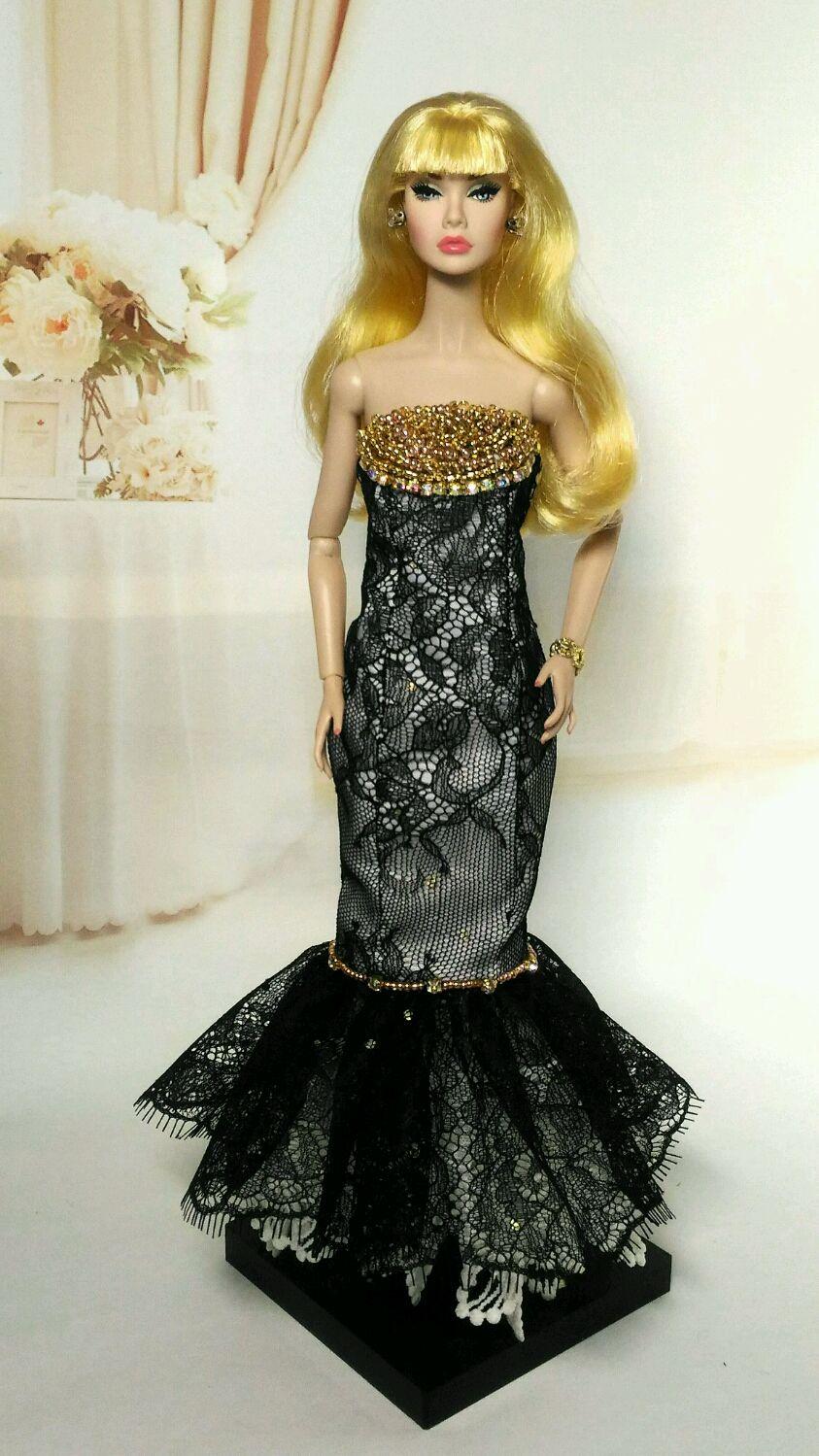 Одежда для Барби. Вечернее платье, Одежда для кукол, Смоленск,  Фото №1