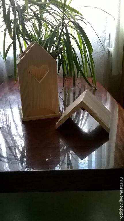 Декупаж и роспись ручной работы. Ярмарка Мастеров - ручная работа. Купить Чайный домик из дерева. Handmade. Бежевый, чайный дом