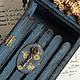 """Прихожая ручной работы. Ярмарка Мастеров - ручная работа. Купить Ключница """"Розы Прованса"""". Handmade. Тёмно-синий, деревянная заготовка"""