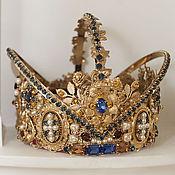"""Украшения ручной работы. Ярмарка Мастеров - ручная работа """"Французская корона Людовик """". Handmade."""