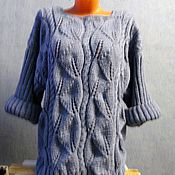 Одежда ручной работы. Ярмарка Мастеров - ручная работа Пуловер обьемный. Handmade.
