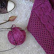 Одежда ручной работы. Ярмарка Мастеров - ручная работа Свитер с аранами. Handmade.