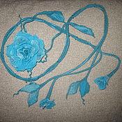 """Аксессуары ручной работы. Ярмарка Мастеров - ручная работа Пояс-лиана """"Бирюза"""". Handmade."""