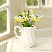 Куклы и игрушки handmade. Livemaster - original item Daffodils in the scale 1: 12. Handmade.