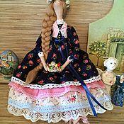 Куклы и игрушки ручной работы. Ярмарка Мастеров - ручная работа Кукла тильда весенняя Пасхальная фея ангел. Handmade.
