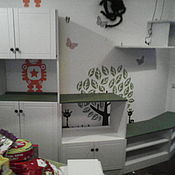 Шкафы ручной работы. Ярмарка Мастеров - ручная работа Стеллаж (стенка) в детскую. Handmade.
