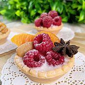 Мыло ручной работы. Ярмарка Мастеров - ручная работа Тарталетки с ягодами из мыла.. Handmade.