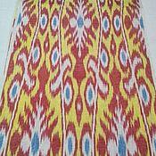 Материалы для творчества handmade. Livemaster - original item Uzbek silk ikat color. The cloth hand weaving of Adras. SM015. Handmade.