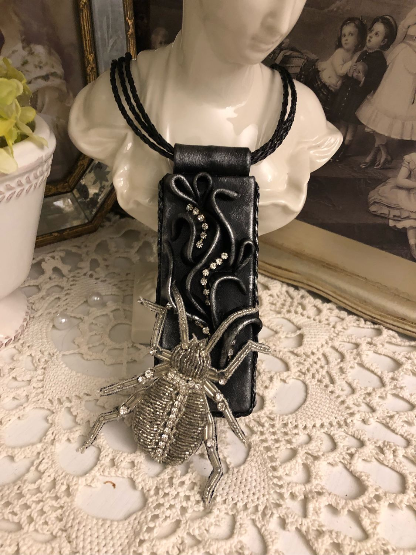 SAFARI necklace (Leather), Necklace, Kaluga,  Фото №1