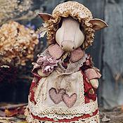 Куклы и игрушки ручной работы. Ярмарка Мастеров - ручная работа Свинка Октябринка.. Handmade.