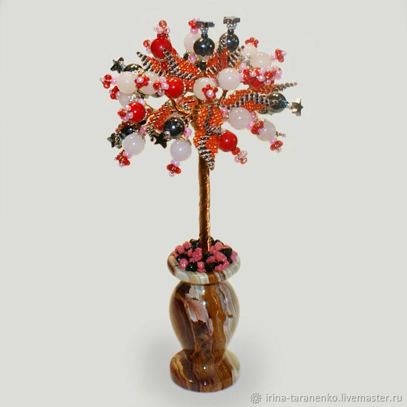 Tree of semi-precious stones 'bird of Paradise', Trees, Moscow,  Фото №1
